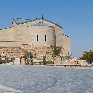 Church at Mount Nebo