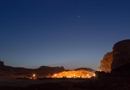 Lights in Jordan