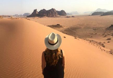 Wadi Mujib hat