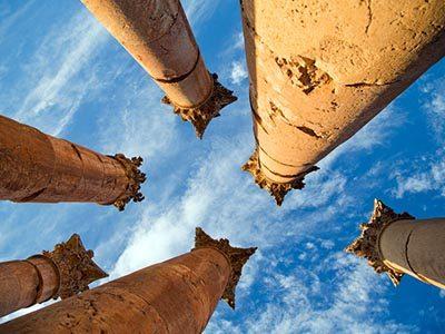 Jerash Columns
